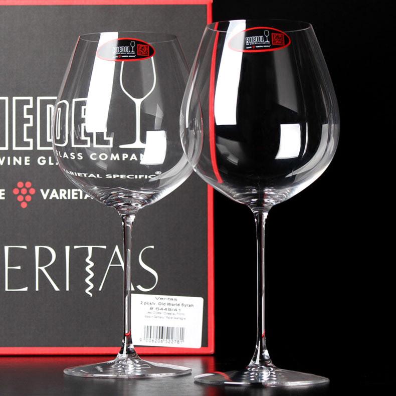 奥地利Riedel水晶红酒杯进口葡萄酒杯veritas一体高脚杯两只礼盒