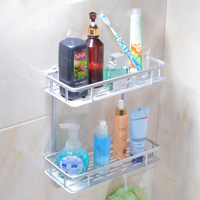 免打孔浴室太空鋁轉角架置物架壁掛衛生間洗手間三角架洗衣機收納