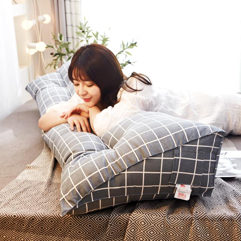 床头靠垫 长靠枕软包三角双人大靠背护腰靠背枕榻榻米床上大靠垫