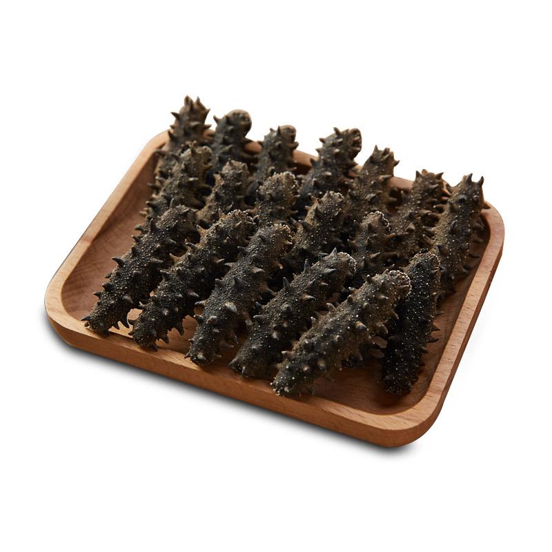 宫品 5T有机淡干海参干货6-11只/50g  刺参海参 礼盒海鲜发后即食