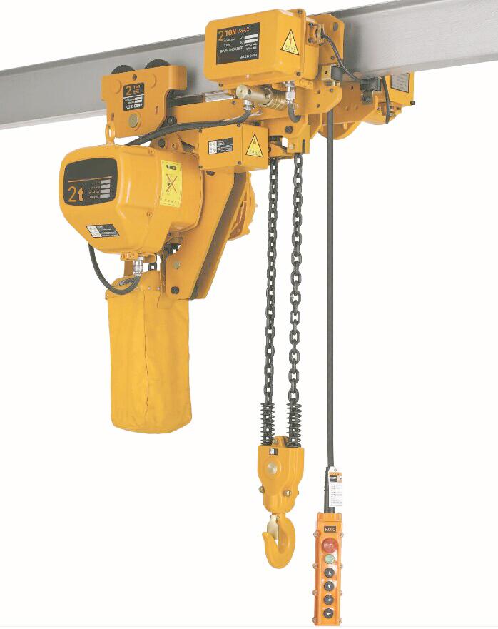 高品质日式环链电动葫芦链条式吊机1t/2t/鬼头款固定运行220V
