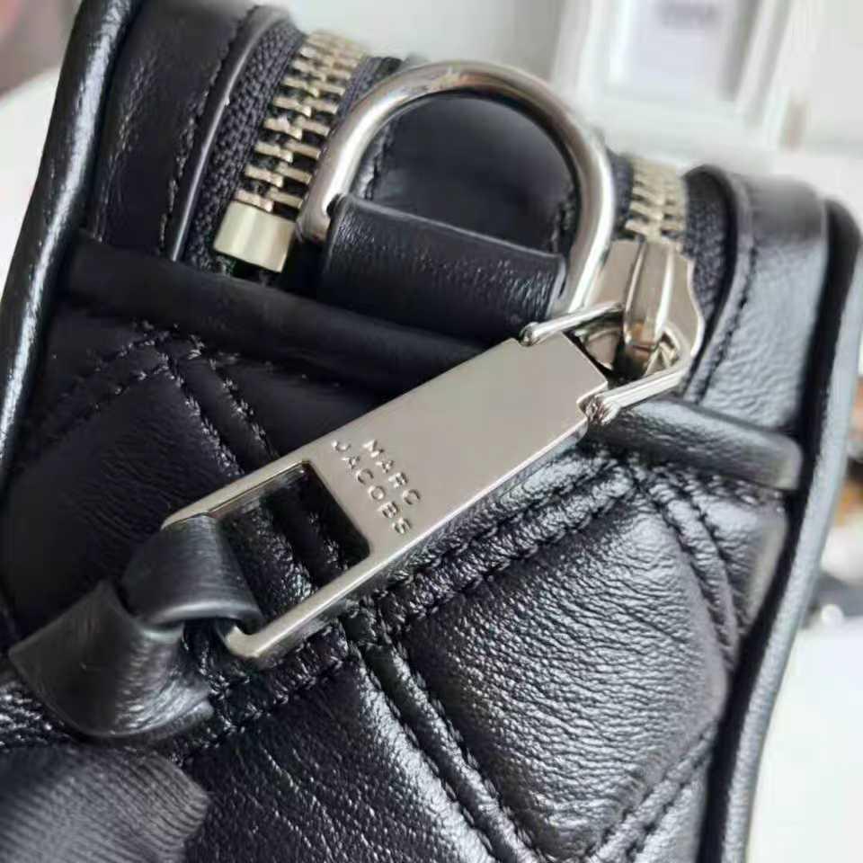 新相机包格凌牛皮小方包黑色拉锁细肩带单肩斜挎手拿女士包 2019