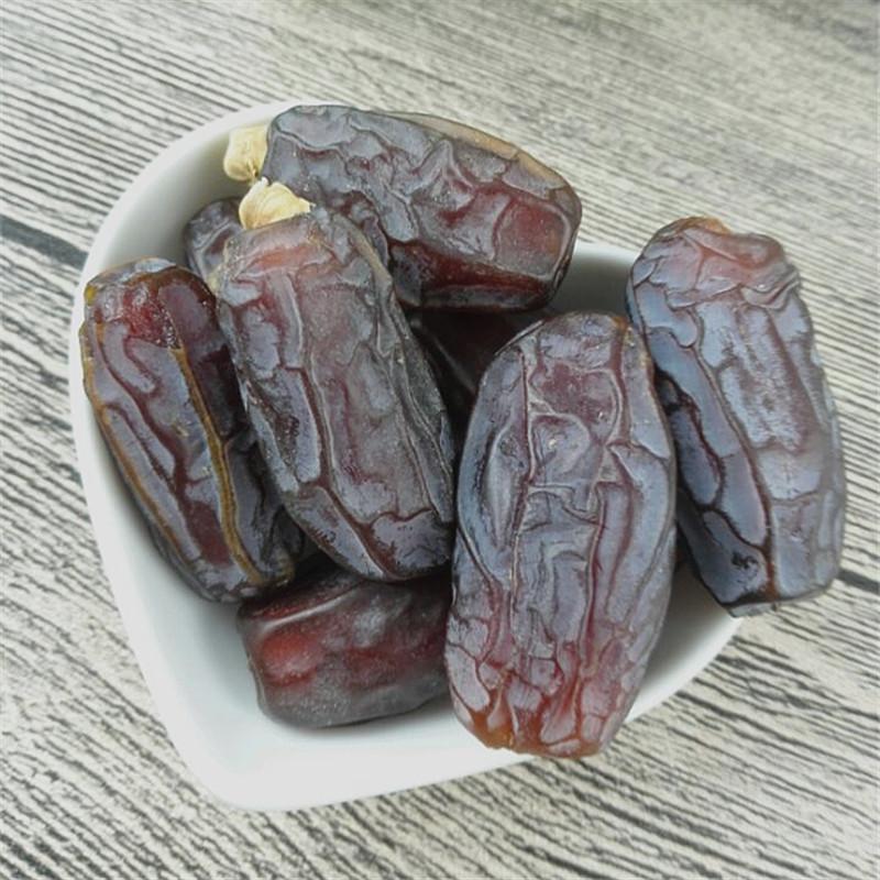 克包邮 250 迪拜阿联酋大枣蜜枣新疆黑椰枣椰枣孕妇零食 以稀