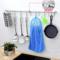 实心厨房挂杆304不锈钢挂钩排钩橱房杆收纳挂架橱柜置物架子挂件