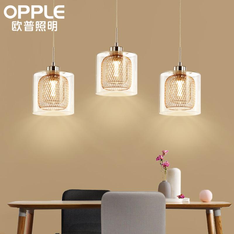 吊线灯长方形餐桌灯新品 赏烁