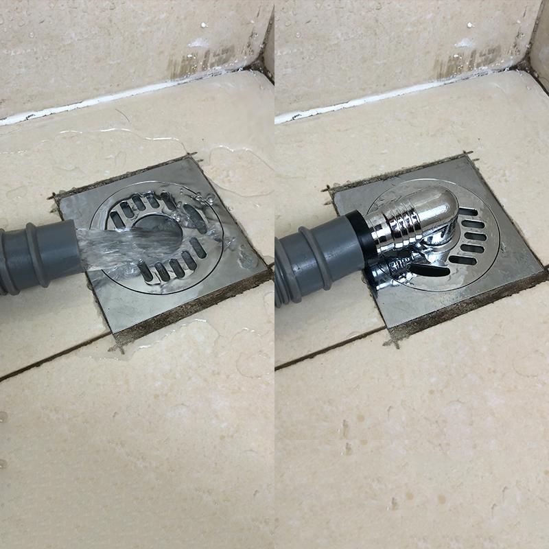 潛水艇全自動滾筒洗衣機排水管出水管與地漏專用連接頭三通接頭彎