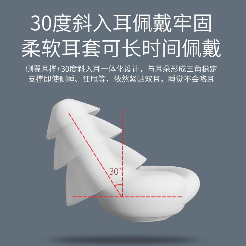 专业耳塞防噪音睡眠用超级隔音睡觉专用降噪工业防吵静音神器学生 - 图2