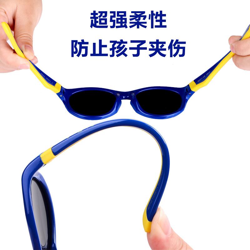 迪士尼儿童太阳镜男童墨镜防紫外线小孩潮宝宝太阳眼镜偏光时尚女