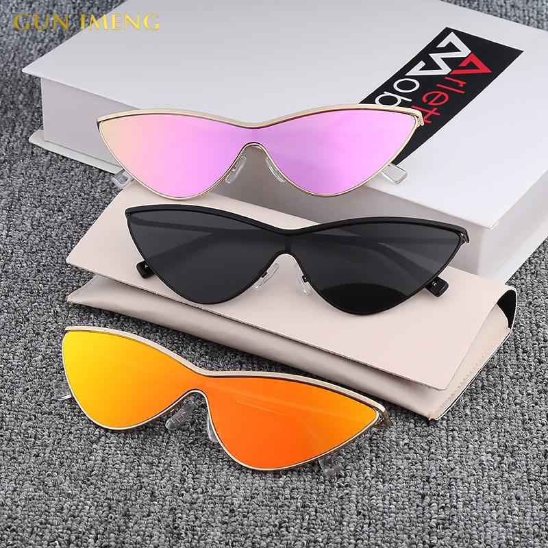 个性墨镜女GIGI肯豆明星同款太阳镜女款猫眼网红小眼镜小