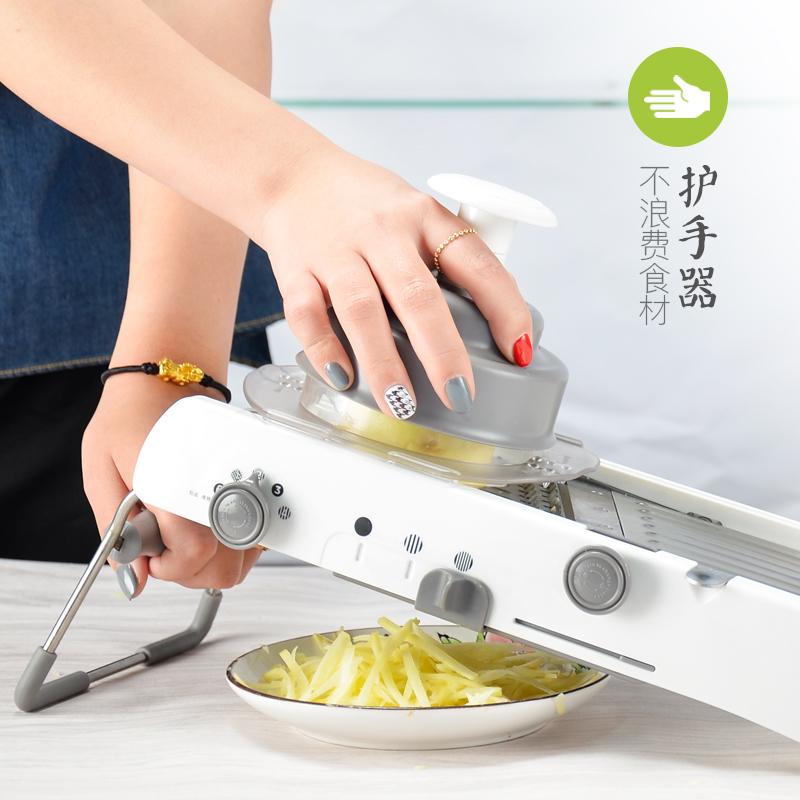 家用多功能不锈钢切菜器厨房切丝神器擦刨丝器切片器土豆丝切丝器