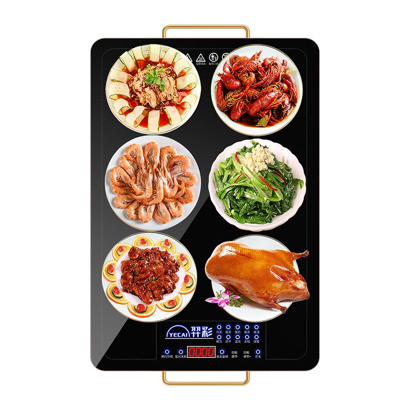 羿彩饭菜保温板家用热菜板暖菜宝加热器热菜神器智能多功能暖菜板