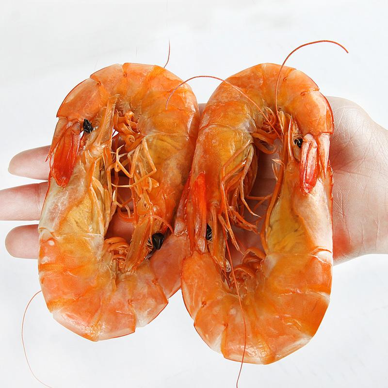 420g 干虾虾干零食虾王送礼盒装 海鲜干货 plus 舟山特产大号大虾干
