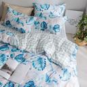 南极人纯棉四件套全棉床单被套单人学生三件套双人4件套床上用品 - 2