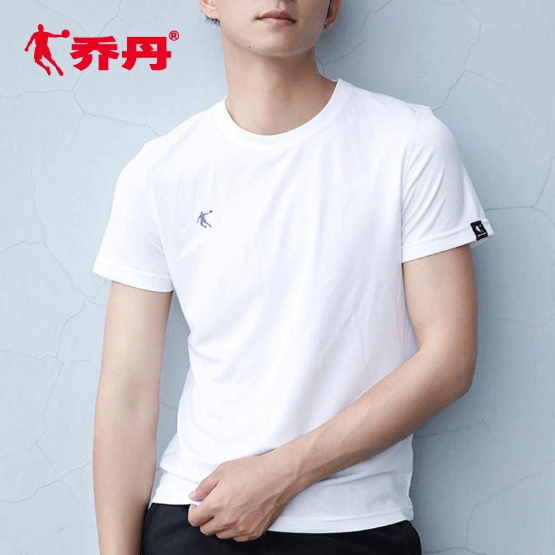 乔丹短袖男t恤夏季宽松运动半袖速干透气运动短袖男士健身运动服