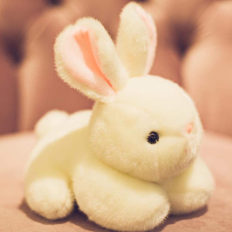 可爱兔子毛绒玩具小玩偶抱枕床上睡觉公仔布娃娃生日礼物女孩超萌