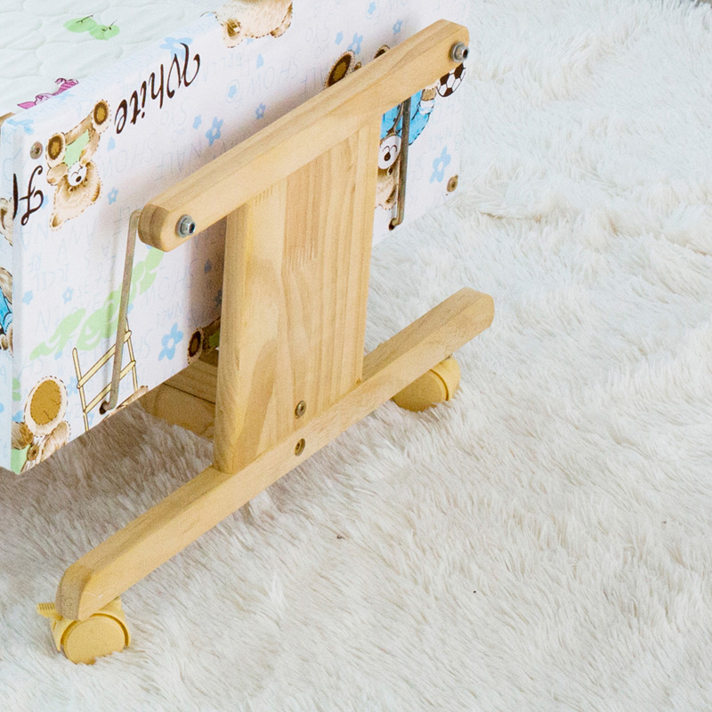 婴儿摇摇床哄娃神器卧室新生儿摇窝老式婴儿床可平躺安抚提篮睡篮