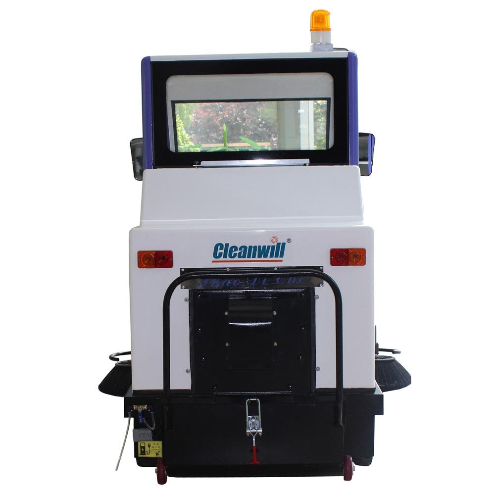 克力威驾驶式扫地机工厂物业公园学校小区车站广场扫地车