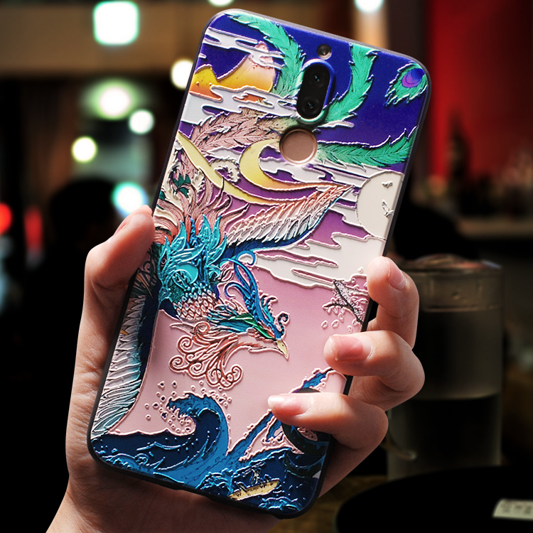 民族中国风华为麦芒6手机壳麦芒5男女款软硅胶套全包防摔个性创意