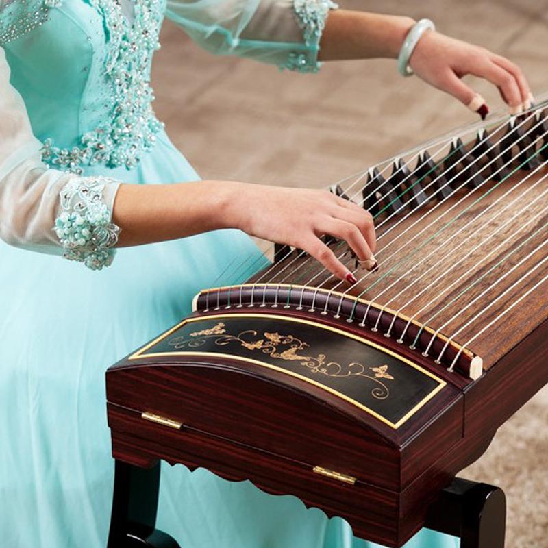 祥音古筝考级初学者入门正品专业演奏大人儿童乐器全套古筝配件