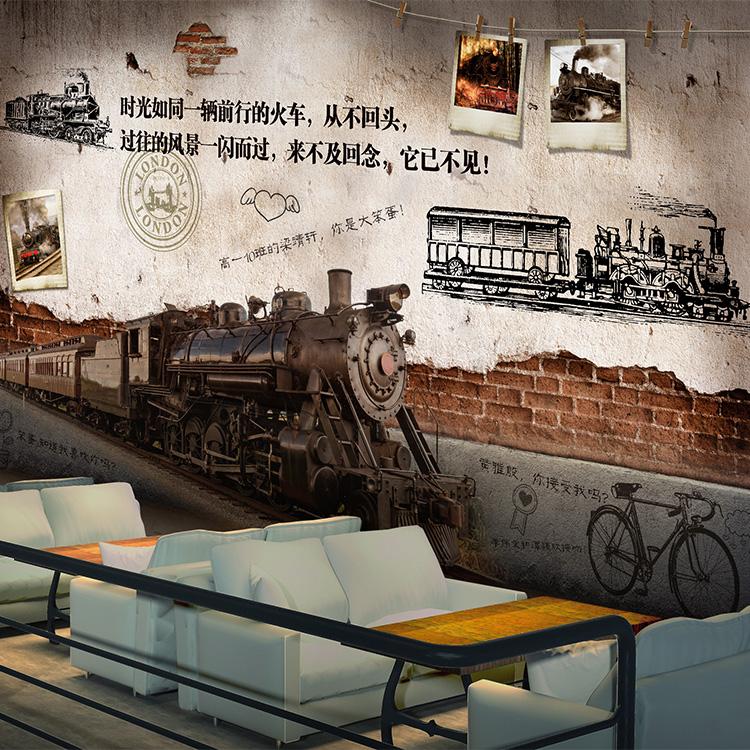 街头涂鸦墙纸健身房街舞馆背景墙壁画咖啡厅奶茶店酒吧网吧壁纸 3D