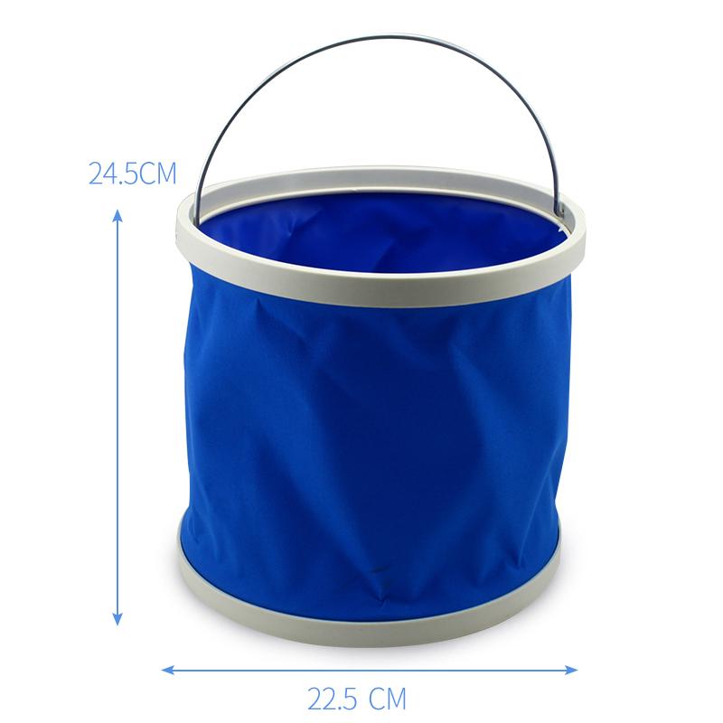 汽车用可折叠桶水桶便携式折叠筒洗车载伸缩桶户外钓鱼工具储水桶