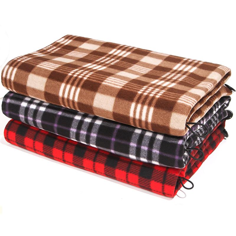 锦蜜电热毯加热坐垫小电褥子办公室护膝毯暖身毯电暖垫披肩暖脚宝
