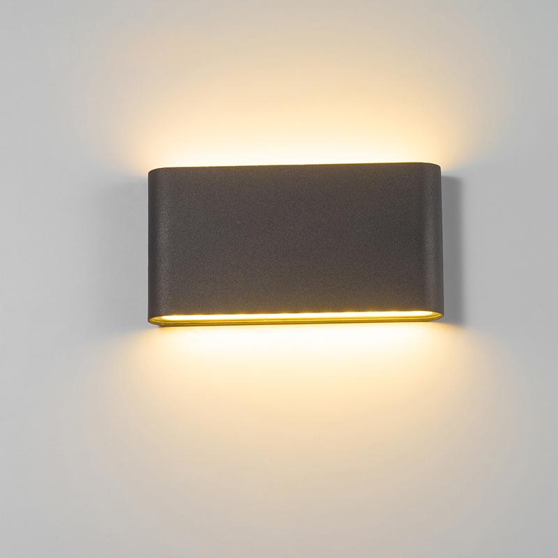壁灯LED户外防水方形简约调光别墅酒店室内床头客厅卧室走廊过道