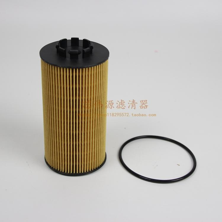 机油滤清器机滤纸芯 A Y 52E 1012045 大柴道依茨 V 龙 J6L 适用于解放