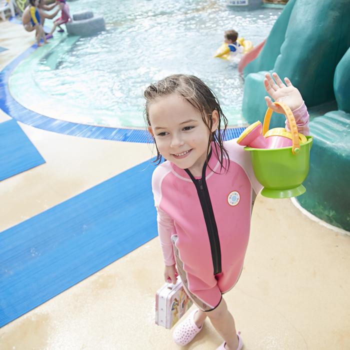 2019新款AVALON兒童泳衣連體男女童寶寶防晒速幹泳裝度假游泳衣