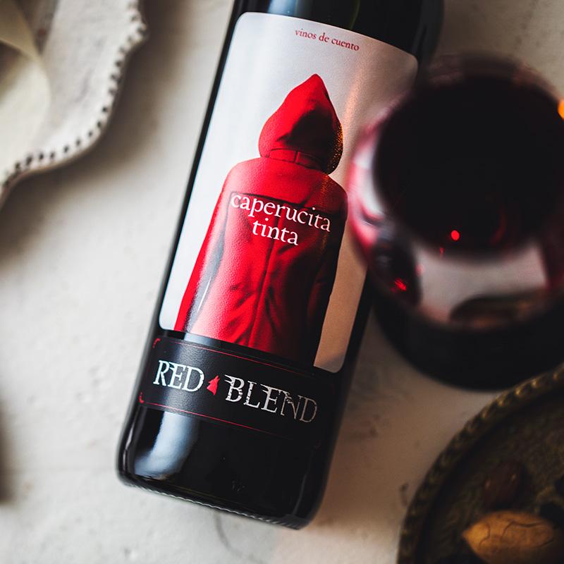 紅酒 網紅爆款小干紅 西班牙進口奧蘭酒莊小紅帽干紅葡萄酒 750ml