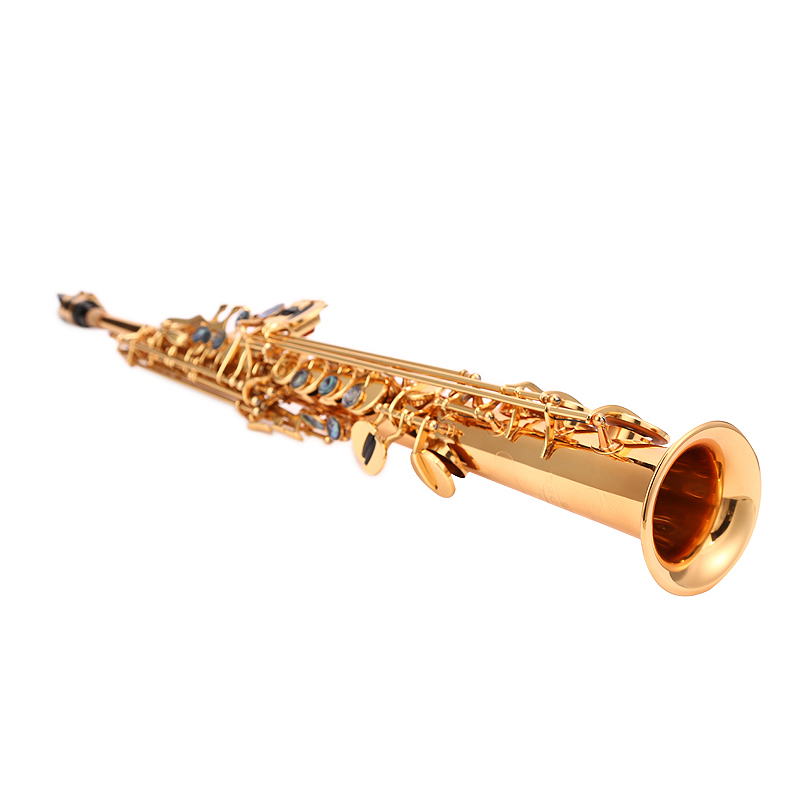 初学者考级演奏新品 681 调 B 降 亨德尔一体高音萨克斯直管乐器