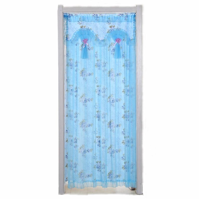 定制家用空調保暖雙開臥室廚房門簾布藝掛簾衛生間隔斷簾半截簾子