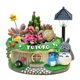 Fun Gardening Cartoon My Neighbor Totoro Flower Pot Creative Lighting With Street Light Succulent Flower Pot Showcase Home Furnishing Decoration