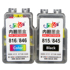 Different color ghost Canon TS3380 refillable ink cartridge 845s repeat 815 compatible 816mg2580s246