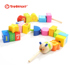 Special beaded children's toys, wear beads, train concentration, baby puzzle large particles, fine movements