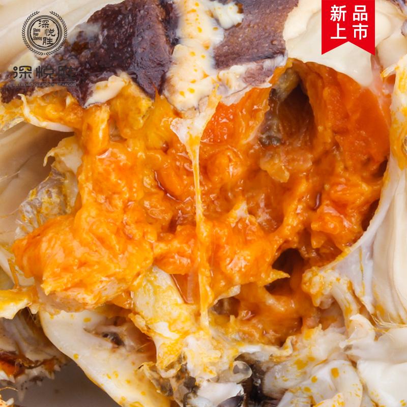 【现货】江苏大闸蟹公3.0两母2.0两4对8只礼盒装鲜活螃蟹协会认证