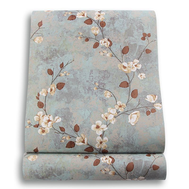 纯纸墙纸温馨卧室客厅电视背景墙壁纸 美式田园新古典 正品约克