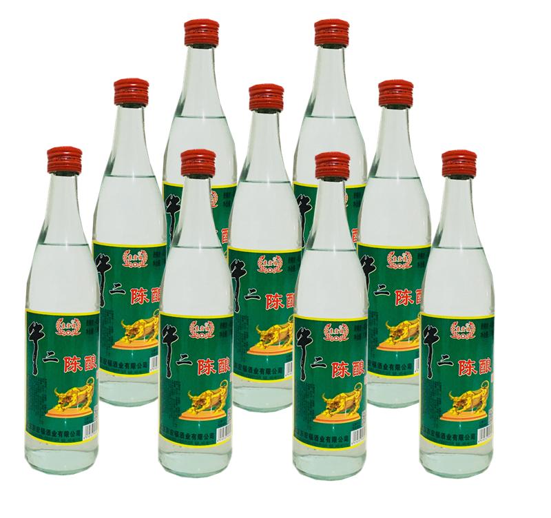 度 瓶装清香型白酒整箱特价 度 42 6 瓶装北京二锅头白酒牛二陈酿