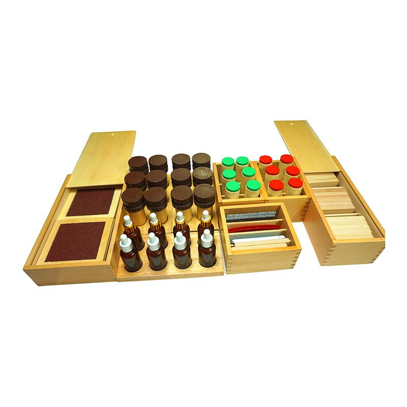 蒙氏教具88件套装幼儿园早教中心蒙特梭利榉木数学教具专业版