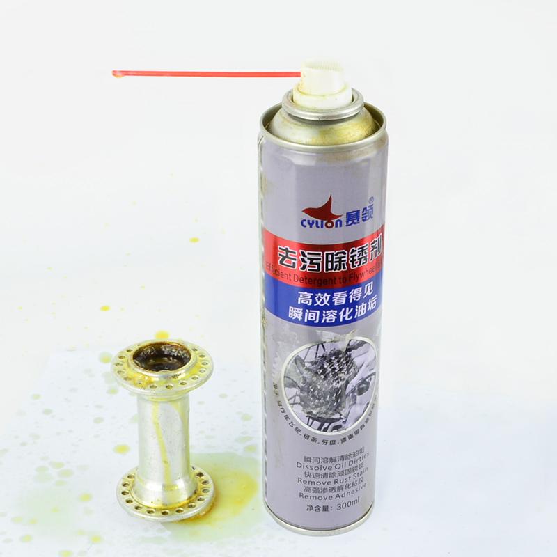 赛领自行车除锈剂山地车飞轮链条牙盘花鼓清洁保养油脂清洗包邮