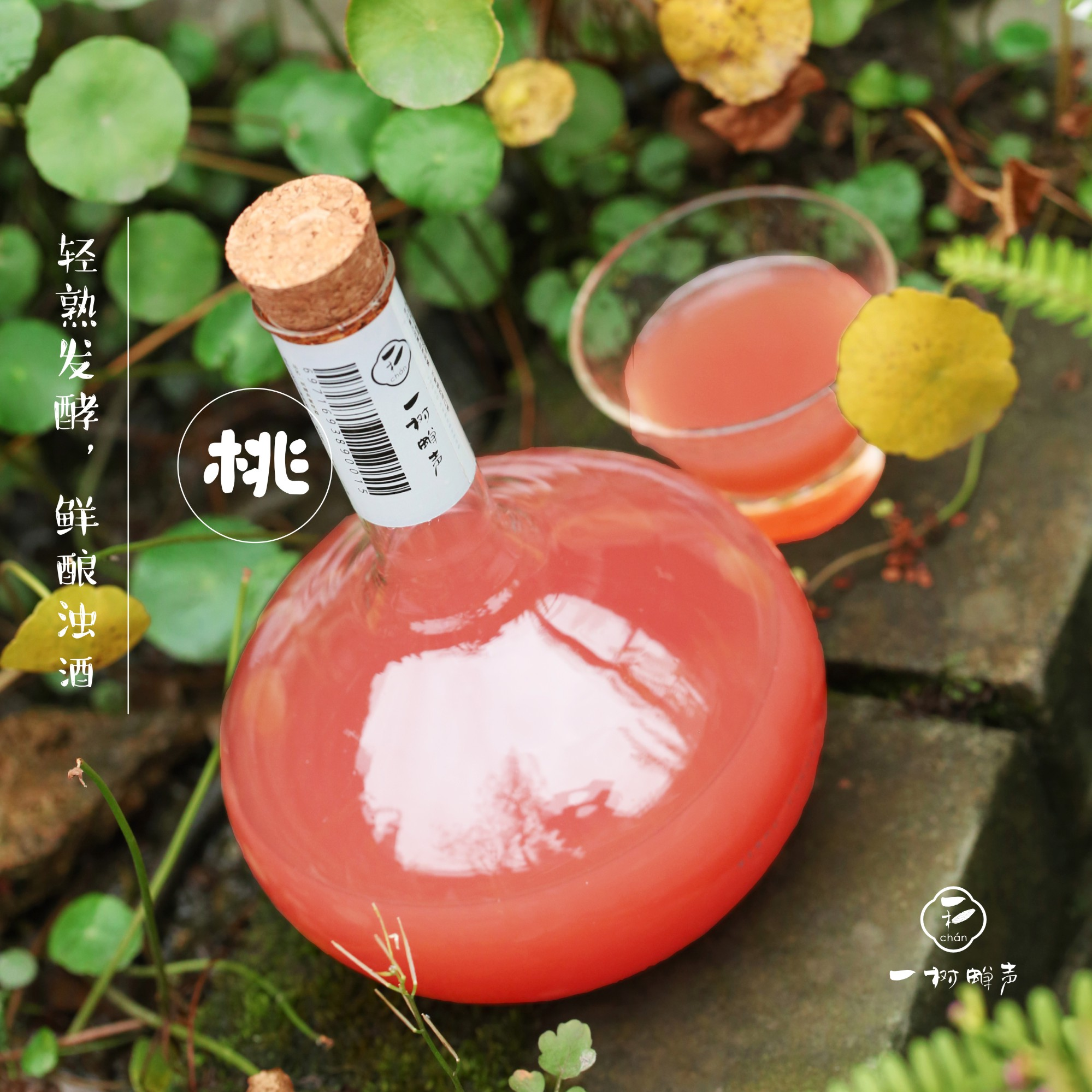 日式白桃浊酒高颜值网红果酒 一树蝉声浊酒系列新品预售