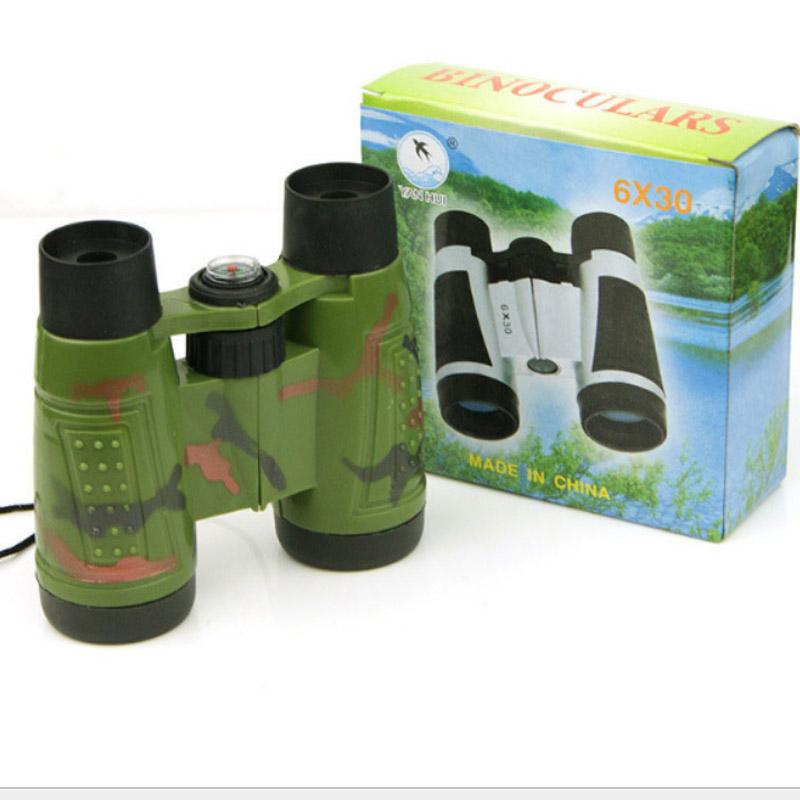 儿童双筒望远镜 户外军事装备模型 少儿科教教具 男女孩生日礼物