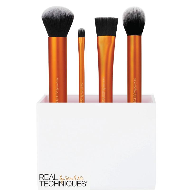 RT初学者基础底妆打底散粉化妆刷刷便携式彩妆工具套装1533