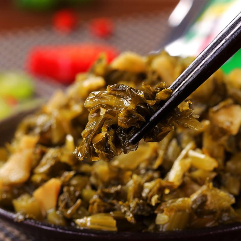 150克x5包笋丝雪菜 雪里蕻雪菜笋丝 腌菜 宁波产品三江咸菜