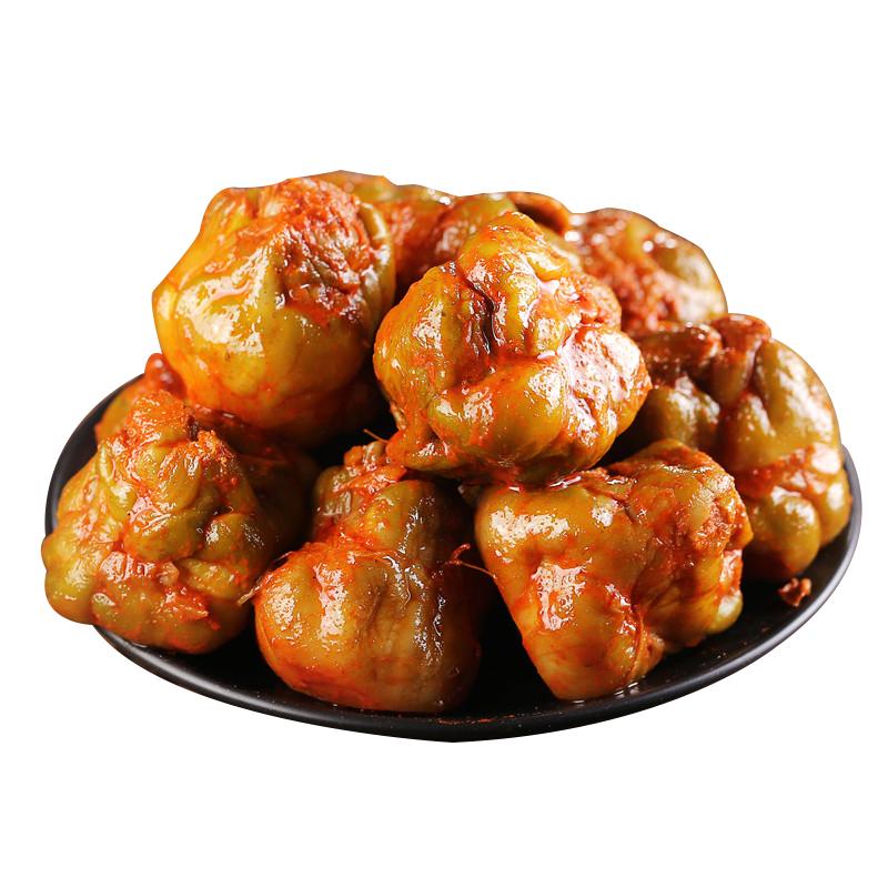 宁波产 五香榨菜 余姚榨菜 整棵榨菜头榨菜芯 酱菜咸菜下饭菜500g
