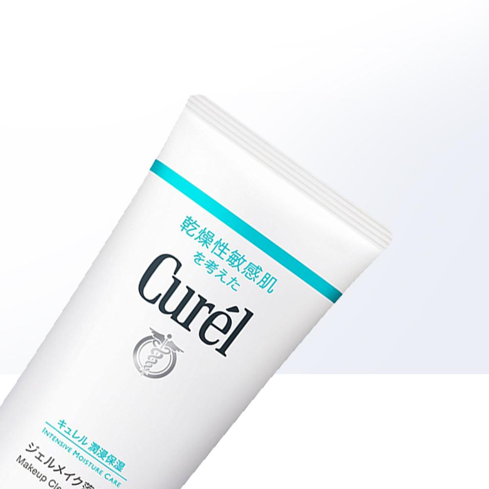 敏感肌溫和清潔 130ml 珂潤潤浸保濕卸妝喱 Curel 日本 直營
