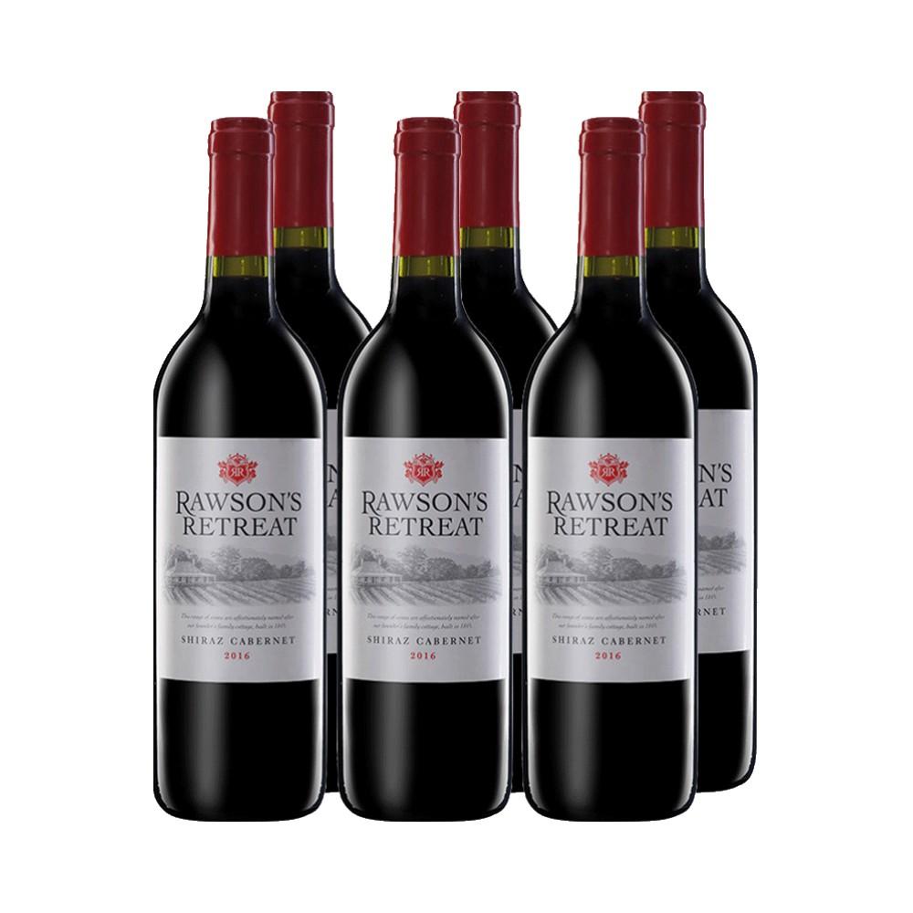支装礼物进口 6 澳洲奔富洛神西拉赤霞珠干红酒葡萄酒整箱 直营