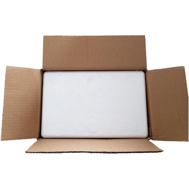 邮政6号泡沫箱纸箱水果泡沫箱生鲜泡沫箱保鲜盒泡沫纸箱配套快递