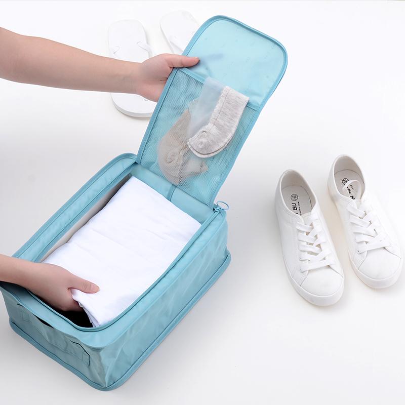 大号防水鞋罩防尘袋可折叠 足球篮球鞋袋便携健身运动鞋包泳鞋套