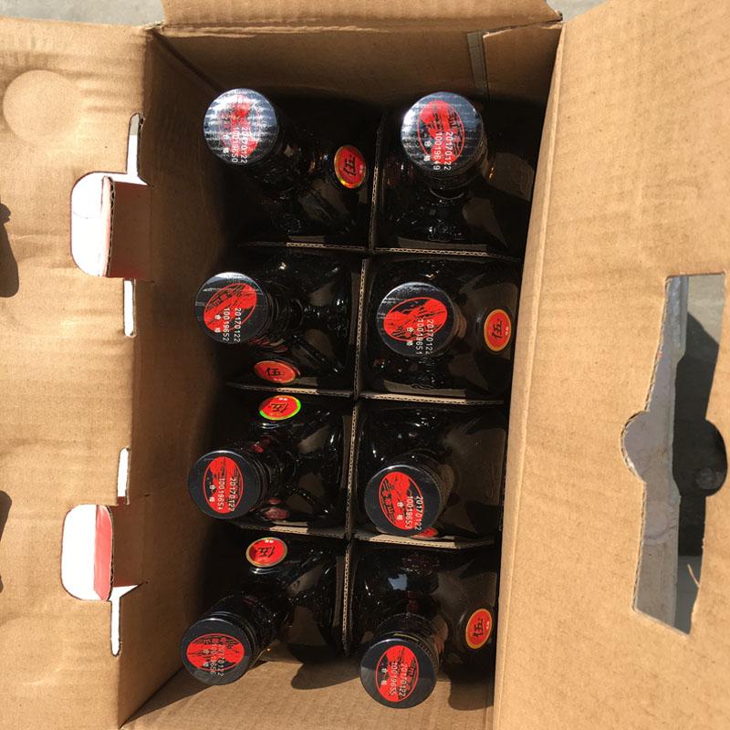半干型黄酒特价促销 500ML 瓶 8 绍兴黄酒会稽山纯正五年陈